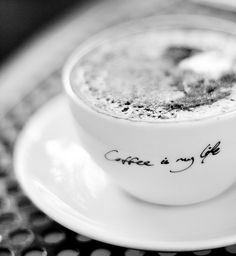 Coffee IS my life!  by ~A.n.a~, via Flickr