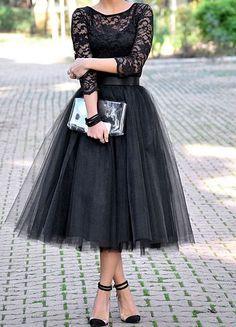 MY OUTFIT RD FASHION BLOG   Como usar una falda de tul