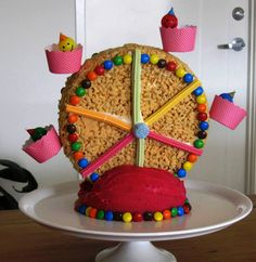 Cute idea for a carnival themed birthday party.
