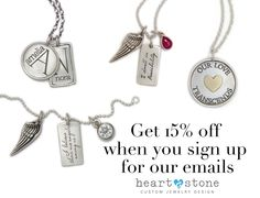Don't miss your opportunity to get 15% off your favorite message charm!