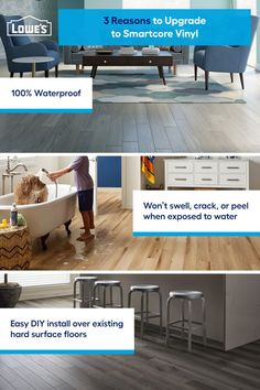 Visit our beautiful showroom or shop our durable, stylish flooring brands you'll love for years to come online.