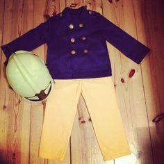 Fireman Sam Costume, Jacket: Chef Emil, Ottobre 1/13, Pants: Row Boat, Ottobre 3/13