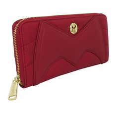 This Avengers Scarlet Witch wallet for women features a quilted, faux-leather exterior simulating Wanda's costume complete with stitched headpiece homage. Ms Marvel, Captain Marvel, Female Marvel Cosplay, Wanda Avengers, Ghost Rider Marvel, Designer Wallets, Silver Surfer, Scarlet Witch, Wish Shopping