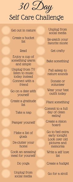 30 day challenge. I think I'll start this in January 2018.