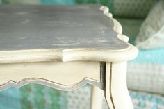 annie sloan chalk paint and dark wax