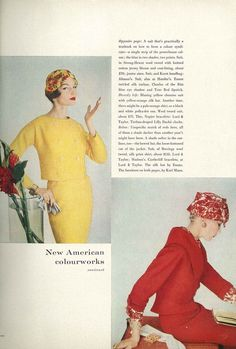 Vogue, February 1958. Photo Henry Clarke
