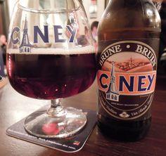 Ciney Bruin, 7% 6/10 a little taste like Rodenbach but not so sour.