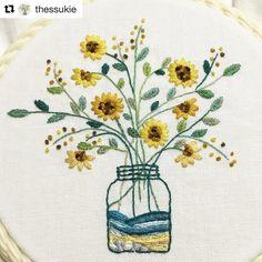 @thessukie #needlework #handembroidery #ricamo #bordado #broderie #embroidery