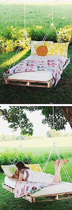 Recycling old wooden palets