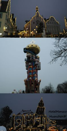 Abensberg #Bayern #Bavaria #Hundertwasser Turm