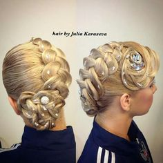 Latin Hairstyles, Braided Hairstyles Updo, Vintage Hairstyles, Wedding Hairstyles, Updo Hairstyle, Celebrity Hairstyles, Wedding Updo, Dance Competition Hair, Ballroom Dance Hair