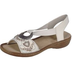 45d2ec167cc05 Slip into stylish comfort with the Rieker Regina B9 sandal. This chic  women s open-