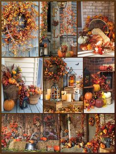 Autumn Decorating, Fall Decor, Autumn Day, Autumn Leaves, Cottage In The Woods, Autumn Scenery, Happy Fall Y'all, Fall Harvest, Homesteading