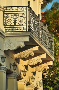 balcony in Athens