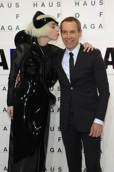 Lady Gaga & Jeff Koons