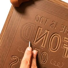 Some high speed lino cut lettering Stamp Printing, Screen Printing, Crea Cuir, Lino Art, Stamp Carving, Owl, Handmade Stamps, Linoprint, Linocut Prints