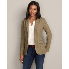 Eddie Bauer Women's Wool-Blend Blazer - Listing price: $169.95 Now: $69.99