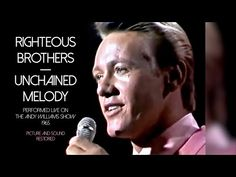 Righteous Brothers -- Unchained Melody (Live, 1965) (Picture and Sound Restored) - YouTube 60s Music, Music Mix, Live Music, Music Songs, Good Music, Music Videos, Bobby Hatfield, Love You Hubby, Unchained Melody