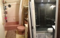Small Bathroom Remodel Pictures Before And After Tiny Bathrooms - Remodeling small bathroom ideas before and after