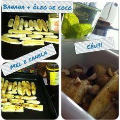 Receita de sobremesa de banana
