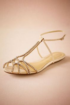Complete your wedding day look with a pair of classic bridal shoes. BHLDN offers wedding heels that are as beautiful as they are comfortable, no matter your venue. Shop wedding shoes for the bride now! Bridal Shoes, Wedding Shoes, Wedding Dress, Wedding Honeymoons, Bhldn, Shoe Shop, Gladiator Sandals, Fashion Shoes, Bridesmaid Dresses