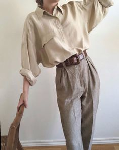 Freja aura on for the love of vintage silk shirt maradvintage gifted kelsey auf quot; Edgy Outfits, Mode Outfits, Fashion Outfits, Fashion Pants, Fashion Tips, Hippie Outfits, Fashion Images, Fashion 2020, Fashion Edgy