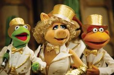 Muppets break-up #prsuccess #brilliant Kermit and Miss Piggy in happier times.