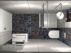 Το μπάνιο έχει διάσταση 1,30x2.30m ενώ το συνολικό του ύψος φτάνει τα 2.00m.