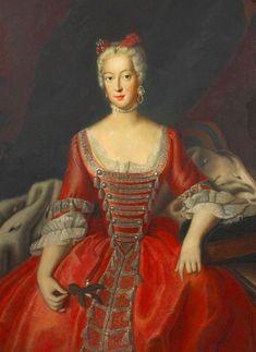 Wilhelmine von Preußen, Markgräfin Brandenburg Bayreuth by Antoine Pesne (location ?) From the lost gallery's photostream on flickr
