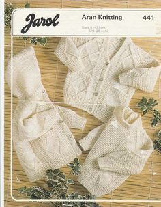 Vintage Tejer patrón hermoso Aran Jumper 32-38 Pulgadas bust//chest