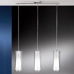 dettagli su lampadario lampada sospensione design moderno acciaio ... - Lampadario Sospensione Cucina