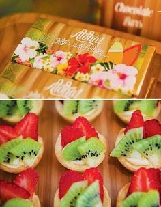 Festa do Havaí - Bagagem de MãeBagagem de Mãe