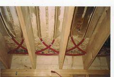 The Floor Joist Installation Radiant Company Rant Heating Wood Stove