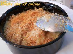 Cassolettes de cabillaud et crevettes gratinées - Entre rire et cuisine...