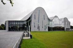 Аква-центр отдыха в Валь-де-Scarpe, Аррас, 2012 - SAREA Ален Sarfati архитектура