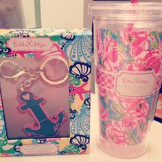 Cute gifts for your big or little! Although I would just buy the ΚΔ Lilly print tumbler and a more Kappa Delta esqué keychain from Paddle Tramps, the Greek Store.