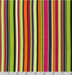I just absolutely love this print. Stripes RULE!