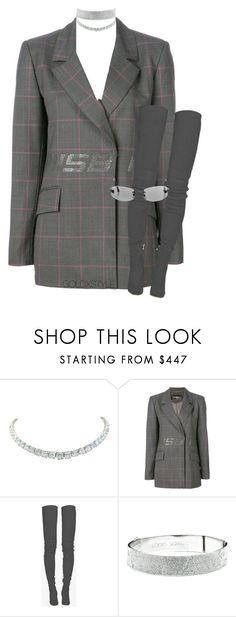 """""""JANE."""" by goldxstyle ❤ liked on Polyvore featuring Rivière, MISBHV, Balmain and Eddie Borgo"""