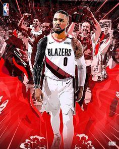Logo Lillard returns home Mvp Basketball, Basketball Legends, Nba Pictures, Basketball Pictures, Michael Jordan Pictures, Best Nba Players, Curry Nba, Kobe Bryant Pictures, Nba Funny