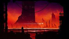 Titans by kvacm on DeviantArt Background Hd Wallpaper, Cool Wallpaper, Sci Fi City, City Art, Cyberpunk, Science Fiction, Graphic Art, Romantic, Deviantart