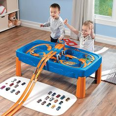 """Step2 Hot Wheels Car and Track Play Table -  Step2 - Toys""""R""""Us"""