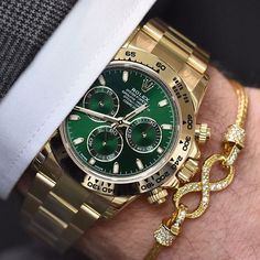 Rolex Daytona paired with @infinitybraceletuk  | http://ift.tt/2cBdL3X shares Rolex Watches collection #Get #men #rolex #watches #fashion