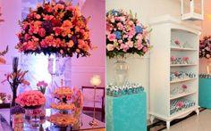 Azul Tiffany e rosa: confira a decoração incrível da festa da Caroline Santini   Capricho