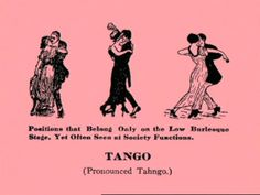 How To Dance Through Time, Volume II: Dances of the Ragtime Era on Vimeo - [The one-step was stil common into the 1920s, and Rudolph Valentino repopularized the tango in the 1921 Four Horsemen of the Apocalypse]