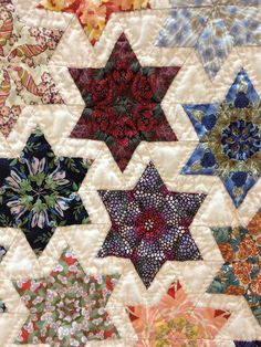 Little Stars by Jean Ball Star Quilt Patterns, Star Quilts, Scrappy Quilts, Quilt Blocks, Baby Quilts, Quilting Projects, Quilting Designs, Quilting Ideas, Sewing Projects