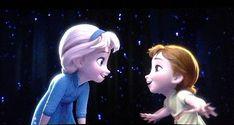 Disney Princess Photo: Young Elsa and Anna