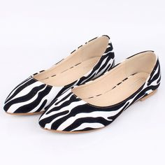 $25 Zebra Shoes.    I have a pair of these. I adore them! They freshen up all my typical black casual outfits. Everyone should own a pair.