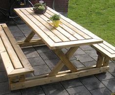 DIY: How to build a picnic table (step-by-step instructions)