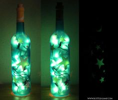how to make a lava lamp that glows