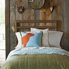 Cabin Life Bedding for Boys Rooms | Serena & Lily